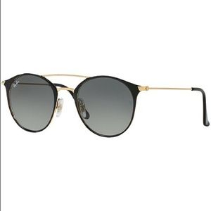 Ray-Ban RB3546 Black/Grey/Gold Size 49